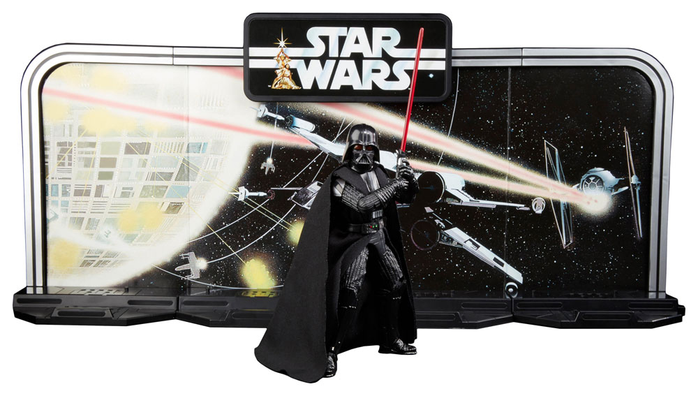 Imagen de Star Wars 40th Anniversary Black Series Figuras 15 cm Darth Vader Legacy Pack