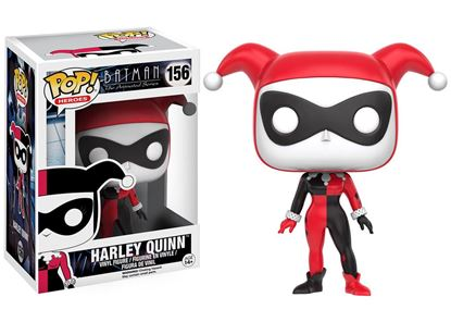 Imagen de Batman The Animated Series POP! Heroes Figura Harley Quinn 9 cm