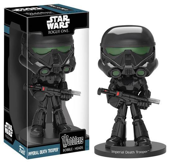 Foto de Star Wars Rogue One Wacky Wobbler Cabezón Imperial Death Trooper 16 cm