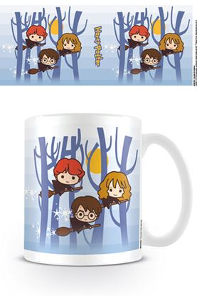 Imagen de Harry Potter Taza Kawaii Flying