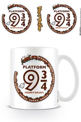 Imagen de Harry Potter Taza Kawaii Platform 9 3/4