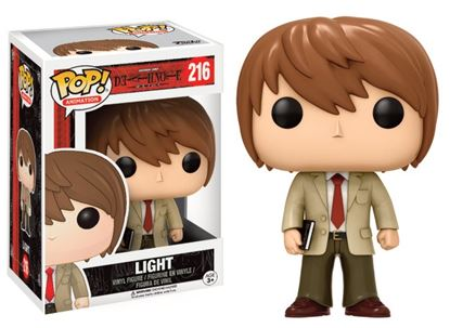 Imagen de Death Note POP! Animation Vinyl Figura Light 9 cm