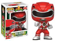 Imagen de Power Rangers Figura POP! Television Vinyl Red Ranger Metallic Limited 9 cm