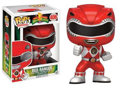 Imagen de Power Rangers Figura POP! Television Vinyl Red Ranger Metallic Limited 9 cm