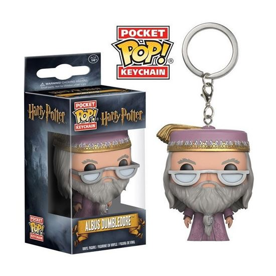 Foto de Harry Potter Llavero Pocket POP! Vinyl Dumbledore 4 cm