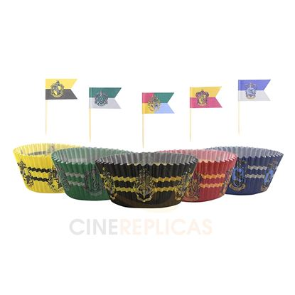 Imagen de Harry Potter Set de Blondas para Madalenas y Cupcakes