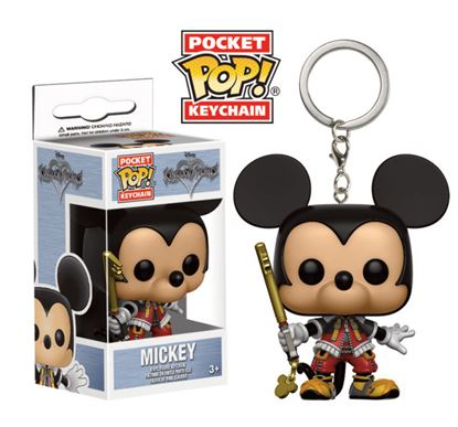 Imagen de Kingdom Hearts Llavero Pocket POP! Vinyl Mickey 4 cm