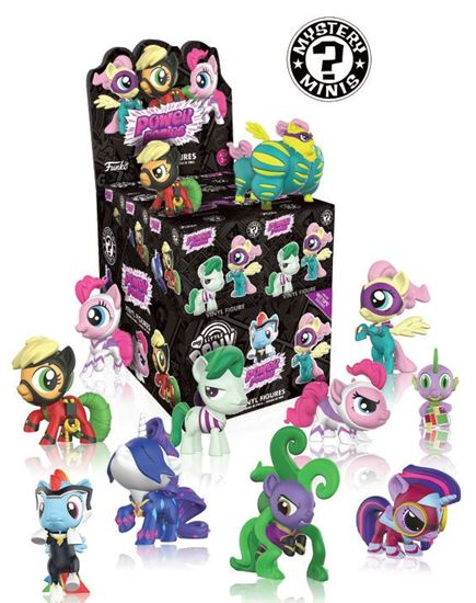 Foto de My Little Pony Mystery Minifiguras 5 cm Expositor Power Ponies Variant Mix (VENTA CAJA INDIVIDUAL)