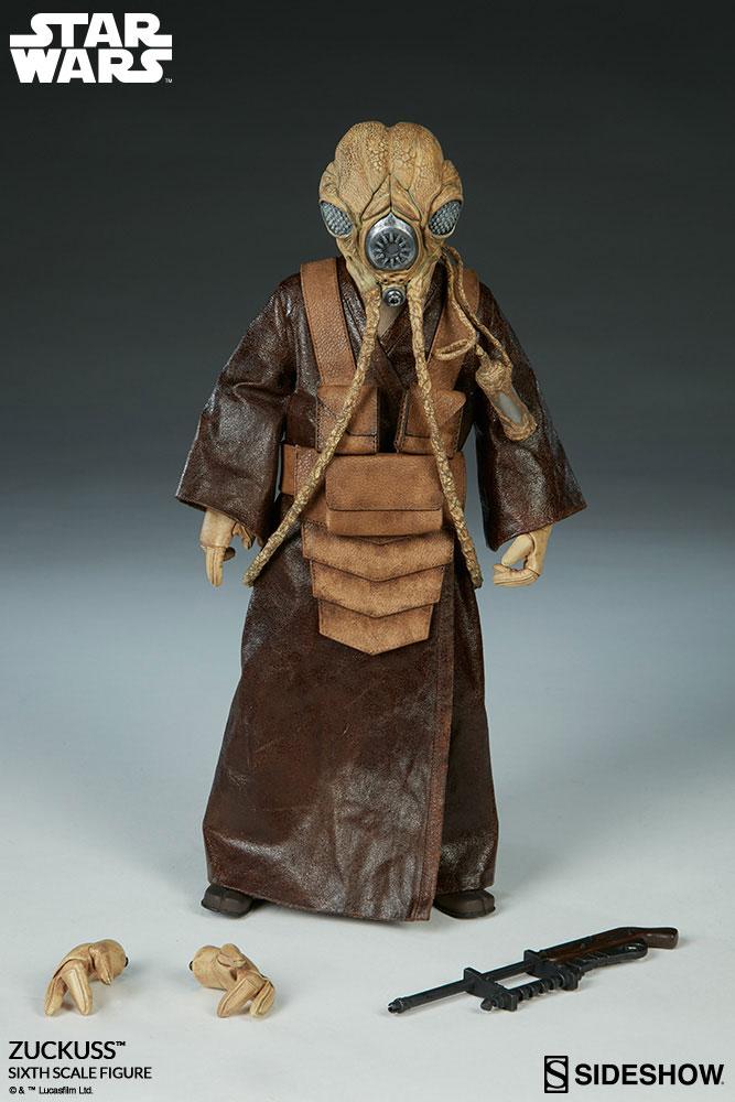 Imagen de Star Wars Figura 1/6 Zuckuss Sideshow Exclusive 30 cm