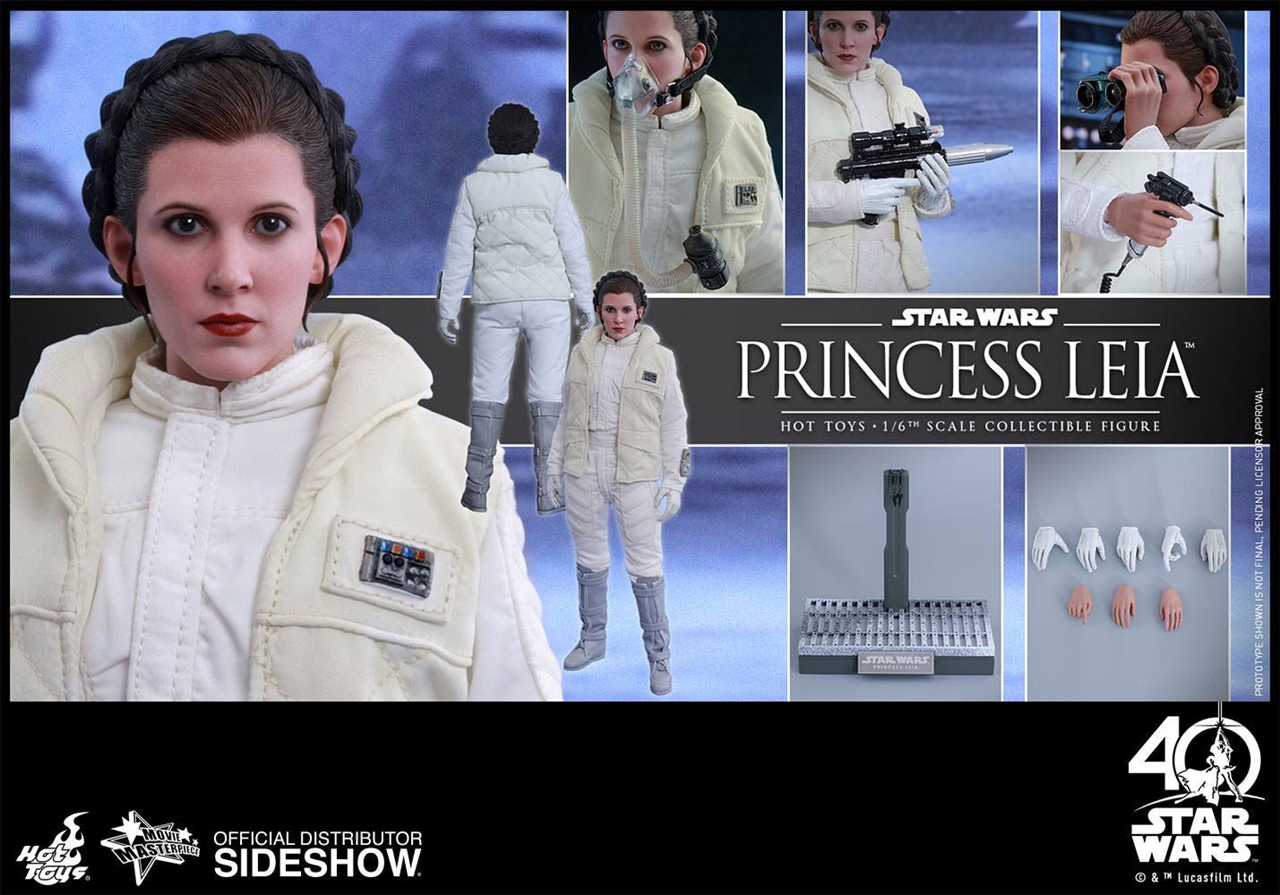 Imagen de Star Wars Episode V Movie Masterpiece Action Figure 1/6 Princess Leia 26 cm