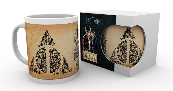 Imagen de Harry Potter Taza Deathly Hallows Words