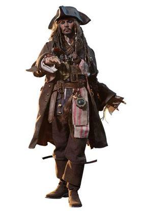 Imagen de Piratas del Caribe La Venganza de Salazar Figura Movie Masterpiece DX 1/6 Jack Sparrow