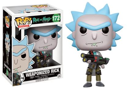 Imagen de Rick y Morty POP! Animation Vinyl Figuren Weaponized Rick
