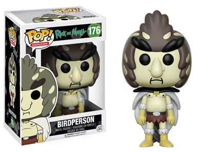 Imagen de Rick y Morty POP! Animation Vinyl Figura Birdperson 9 cm