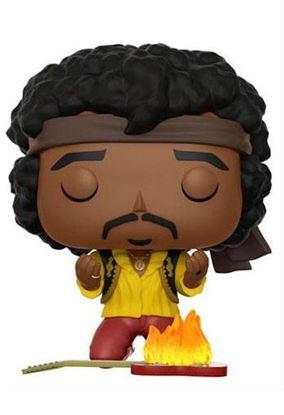 Imagen de Jimi Hendrix POP! Rocks Vinyl Figura Jimi (Monterey) 9 cm