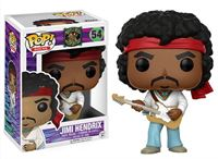 Imagen de Jimi Hendrix POP! Rocks Vinyl Figura Jimi 9 cm