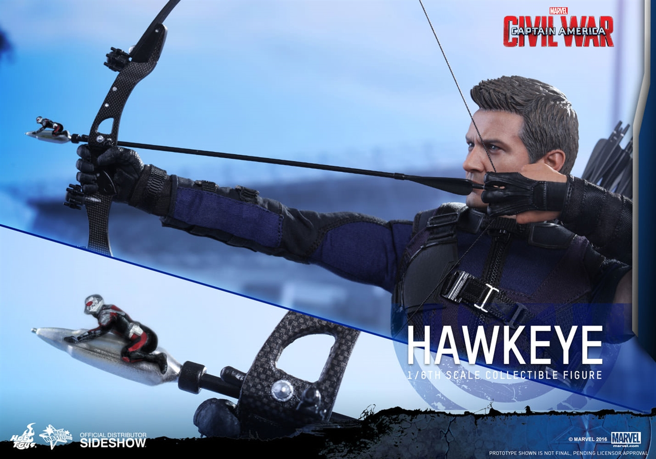 Imagen de Captain America: Civil War - Movie Masterpiece Series 1/6 Hawkeye 30 cm