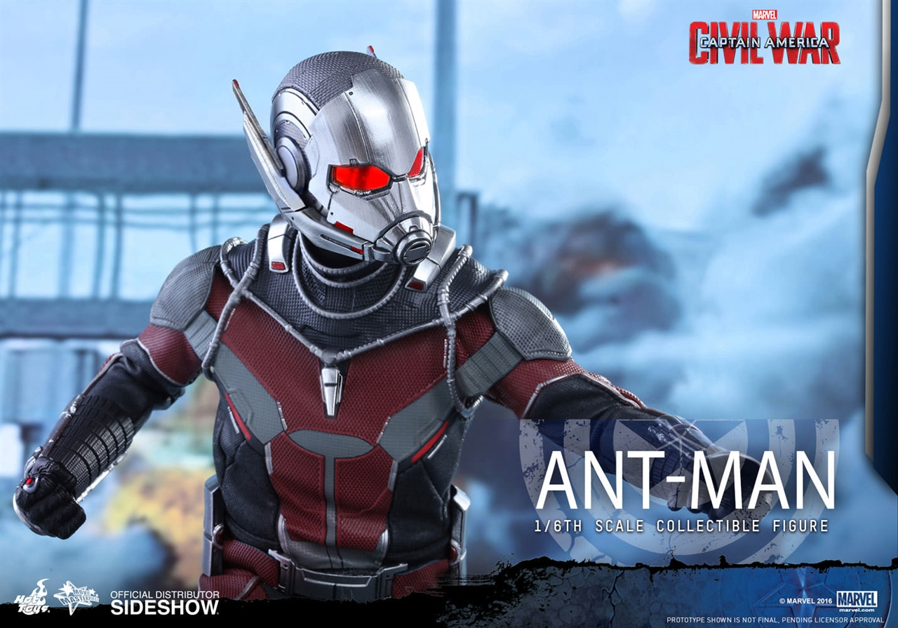 Imagen de Captain America: Civil War - Movie Masterpiece Series 1/6 Ant-Man 30 cm
