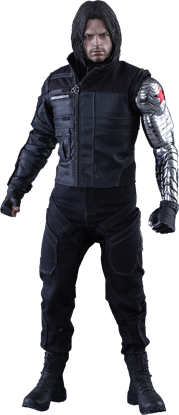Imagen de Captain America: Civil War - Movie Masterpiece Series 1/6 Winter Soldier 31 cm