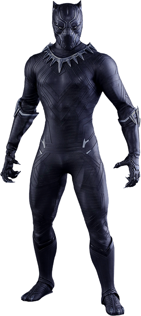 Imagen de Captain America: Civil War - Movie Masterpiece Series 1/6 Black Panther 31 cm
