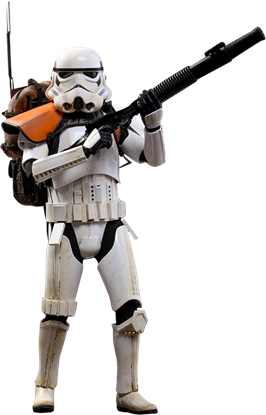 Imagen de Star Wars Rogue One Figura Movie Masterpiece 1/6 Stormtrooper Jedha Patrol TK-14057 30 cm