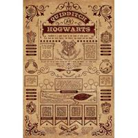 Imagen de Harry Potter Poster Quidditch at Hogwarts