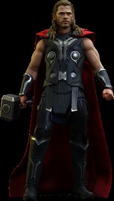 Imagen de Vengadores La Era de Ultrón Figura Movie Masterpiece 1/6 Thor 32 cm