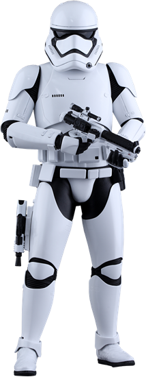 Foto de Star Wars Episode VII Figura Movie Masterpiece 1/6 First Order Stormtrooper 30 cm