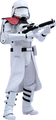 Imagen de Star Wars Episode VII Figura Movie Masterpiece 1/6 First Order Snowtrooper Officer 30 cm