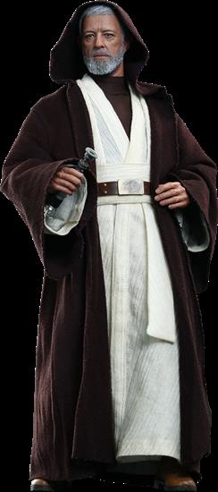 Foto de Star Wars Figura Movie Masterpiece 1/6 Obi-Wan Kenobi 30 cm