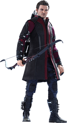 Imagen de Vengadores La Era de Ultrón Figura Movie Masterpiece 1/6 Hawkeye 30 cm