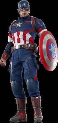 Imagen de Vengadores La Era de Ultrón Figura Movie Masterpiece 1/6 Captain America 31 cm