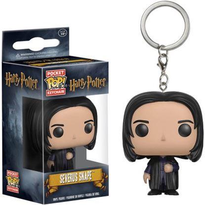 Imagen de Harry Potter Llavero Pocket POP! Vinyl Severus Snape  4 cm