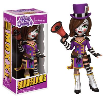 Imagen de Borderlands Rock Candy Vinyl Figuras Mad Moxxi 13 cm