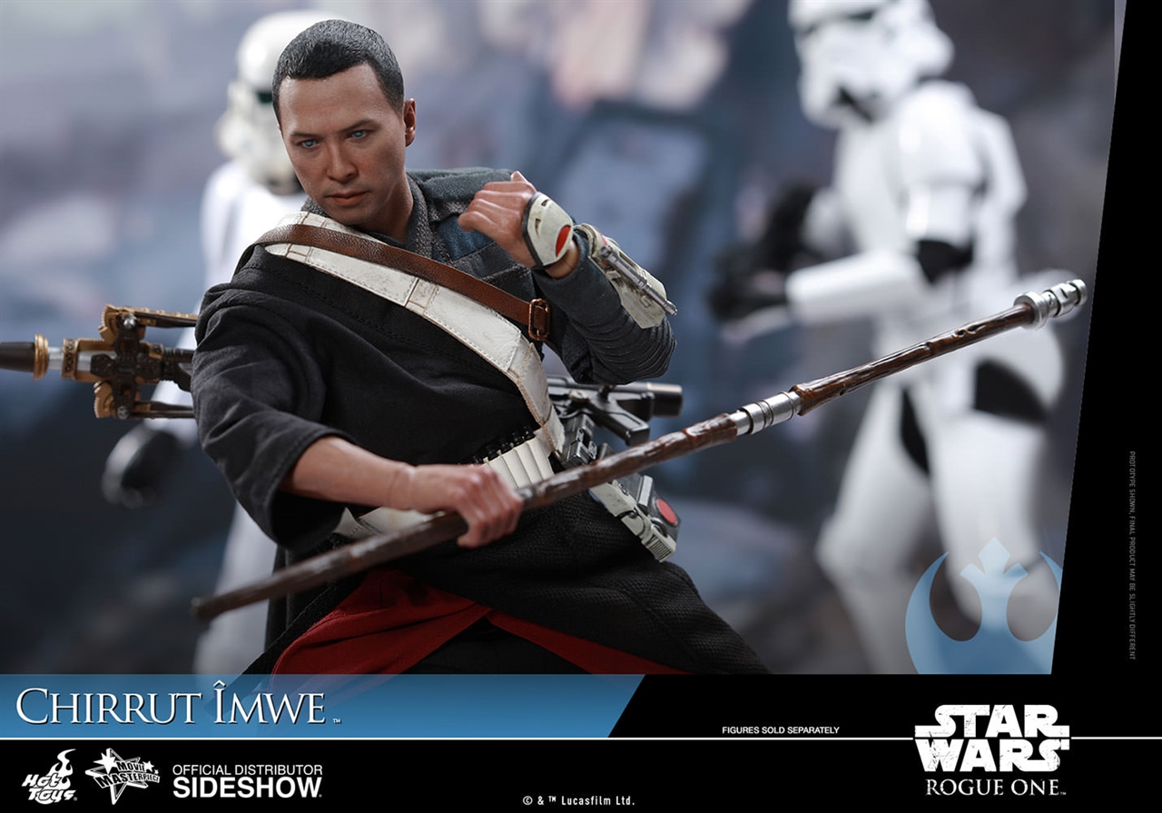 Imagen de Star Wars Rogue One Figura Movie Masterpiece 1/6 Chirrut Îmwe (Deluxe Version) 29 cm
