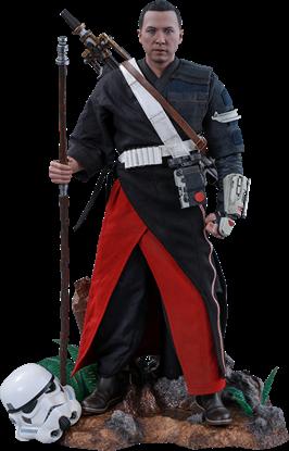 Imagen de Star Wars Rogue One Figura Movie Masterpiece 1/6 Chirrut Îmwe (Deluxe Version) 29 cm