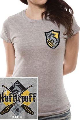 Imagen de Harry Potter Camiseta Chica Hufflepuff Talla S