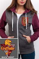 Imagen de Sudadera Gryffindor con Cremallera y Capucha (CHICA) Talla S