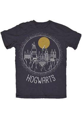 Imagen de Camiseta Chico Hogwarts Talla L