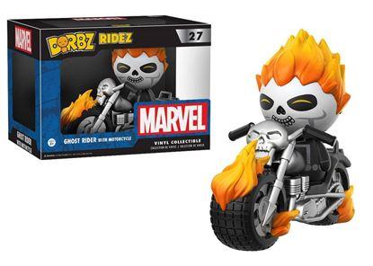 Imagen de Marvel Comics POP! Ridez Vinyl Vehículo con Figura Dorbz Ghost Rider & Motorcycle 24 cm