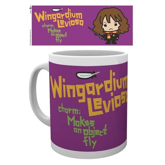 Foto de Harry Potter Taza Kawaii Windgardum Leviosa