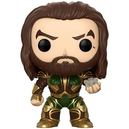 Imagen de Justice League Movie POP! Movies Vinyl Figura Aquaman Summer Convention Exclusive 9 cm
