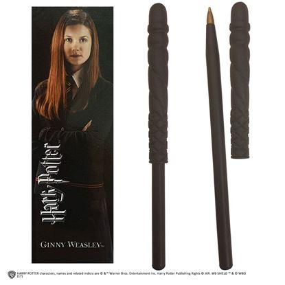 Imagen de Bolígrafo Varita y Marcapáginas Ginny Weasley - Harry Potter