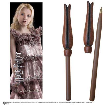 Imagen de Bolígrafo Varita y Marcapáginas Luna Lovegood - Harry Potter