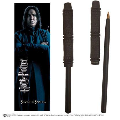 Imagen de Bolígrafo Varita y Marcapáginas Severus Snape - Harry Potter