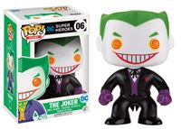 Imagen de DC Comics POP! Heroes Figura The Joker (Black Suit) 9 cm