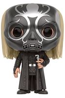 Imagen de Harry Potter POP! Movies Vinyl Figura Lucius Malfoy Máscara Mortífago 9 cm