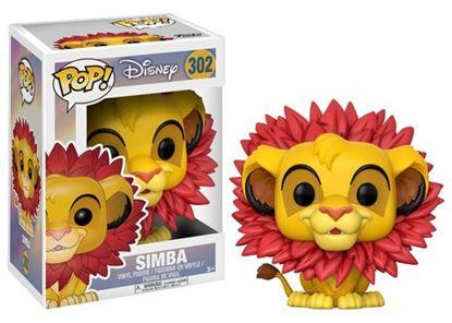 Imagen de El Rey León POP! Disney Vinyl Figura Simba 9 cm