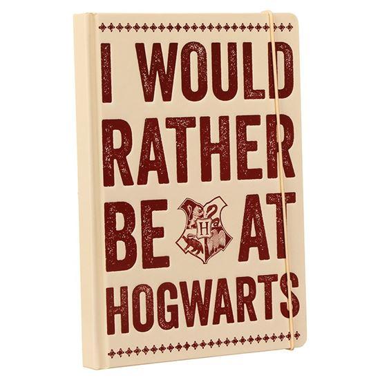 Foto de Libro de Notas Hogwarts Slogan