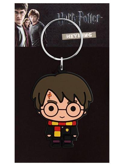 Foto de Harry Potter Llavero Latex Harry Potter Chibi